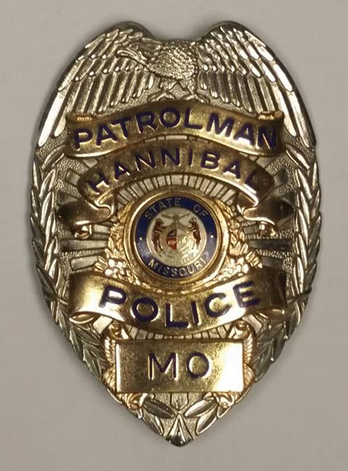 Hannibal Police Department Badge