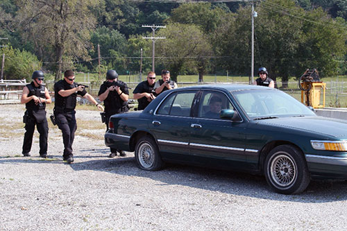 Special Response Team in Action