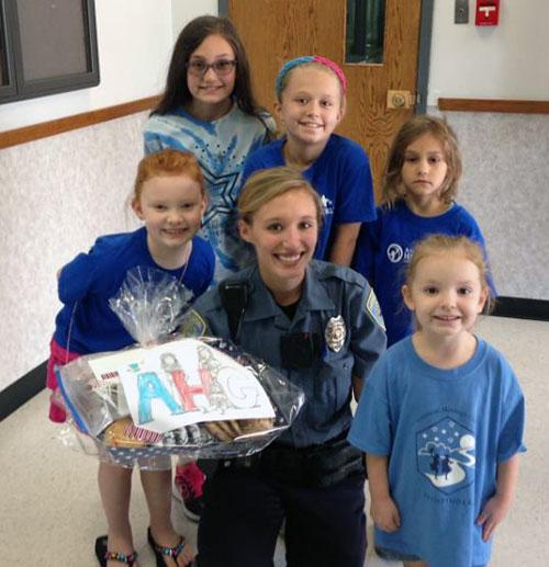 American Heritage Girls - Hannibal Police