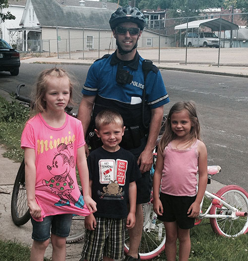 Bike Patrol - Community Outreach