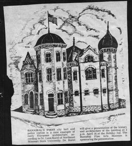 Hannibal's First City Hall and Police Station