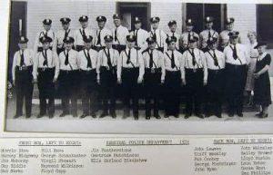 Hannibal Police Dept 1939
