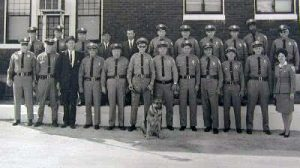 Hannibal Police Officers with Dog