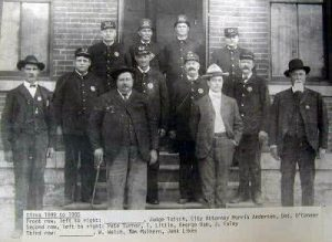 Historic Hannibal Police Officers 1905